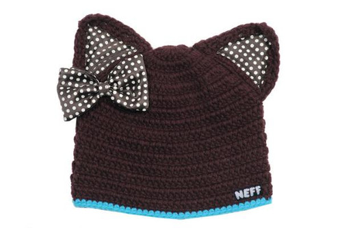 a4ed82ef09c Neff Youth Kitten Beanie 2012