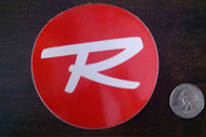 Rossignol Circle Red Logo Stickers