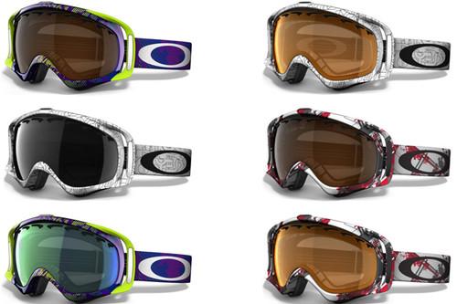 Goggle oakley crowbar snow