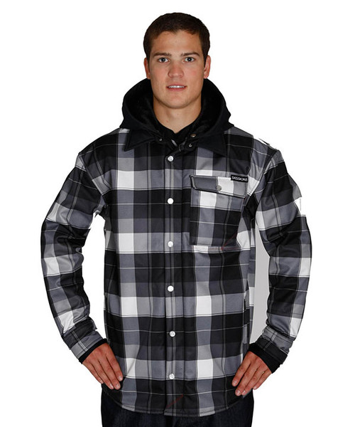 Black Plaid-Front