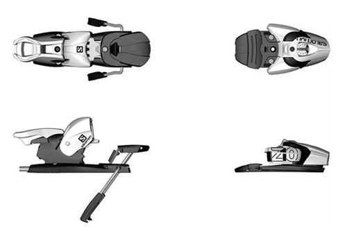 Salomon 2014 N Z10 Ski Bindings