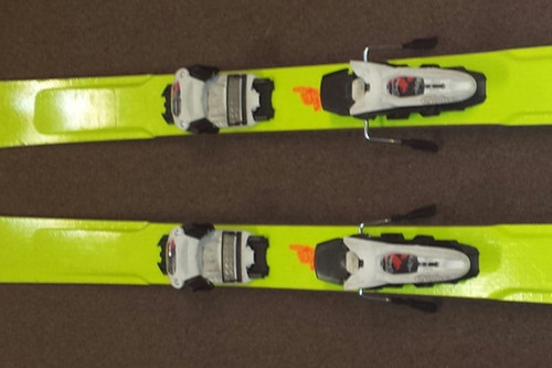 Line Afterbang Used Skis With Marker Griffon Demo Bindings 2014