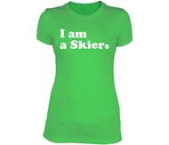 Line Skier Forever Women's Tshirt 2015