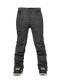 Black Pigment Scratch Denim