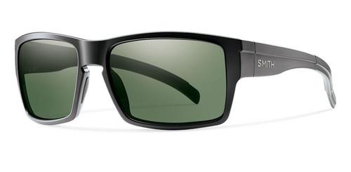 Matte Black w/ Polarized Gray Green
