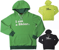 Line I am a Skier Pullover Hoodie 2016