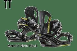 Metallic Matte Black