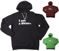 Line I am a Skier Hoodie 2017