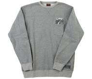 Line Dropout Crew Pocket Sweatshirt 2017