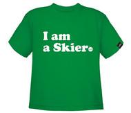 Line I am a Skier Toddler Tshirt 2018