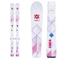 Volkl Chica Jr Skis + vMotion Jr Kid's Skis 2018