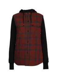 Port/Charcoal Plaid