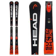 Head Supershape i.Rally Skis with PRD 12 Ski Bindings 2018