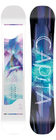 Capita Space Metal Fantasy Women's Snowboard 2019