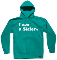 Line I Am A Skier Women's Pullover Hoodie 2019