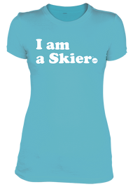 Line I Am A Skier Women's Tee 2019