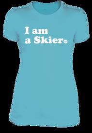 Line I Am A Skier Women's Tee 2019
