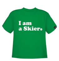 Line I Am A Skier Toddler Tee 2019