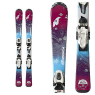 Nordica Little Belle Junior Skis + Jr 7.0 FDT Bindings 2019