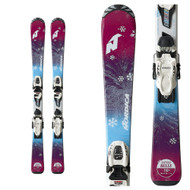 Nordica Little Belle Junior Skis + Jr 4.5 FDT Bindings 2019