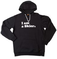 Line I Am A Skier Pullover Hoodie 2020