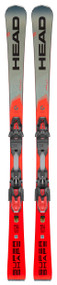 Head Supershape iRally SW Skis + PRD 12 Bindings 2020