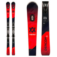 Volkl Deacon 74 Skis + rMotion2 12 Bindings 2020