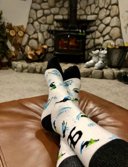 Ski Slopes Sock