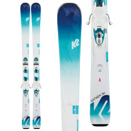 K2 Anthem 76X Women's Skis + ER3 10 Compact Quikclik Bindings 2020