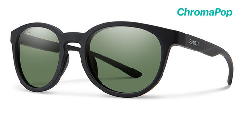 Matte Black/ ChromaPop Polarized Gray/Green