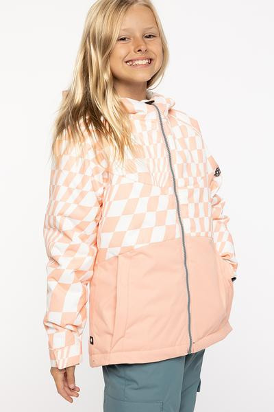 Coral Pink Checkers