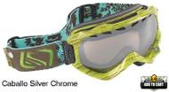 Scott Alibi Caballo Silver Chrome