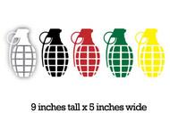 Grenade Stickers