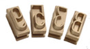 2 Inch Bronze Changeable Characters - Branding Iron Characters