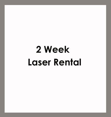 2 Week Laser Rental