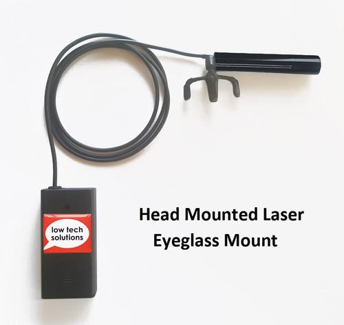 Eyeglass Mounted Laser