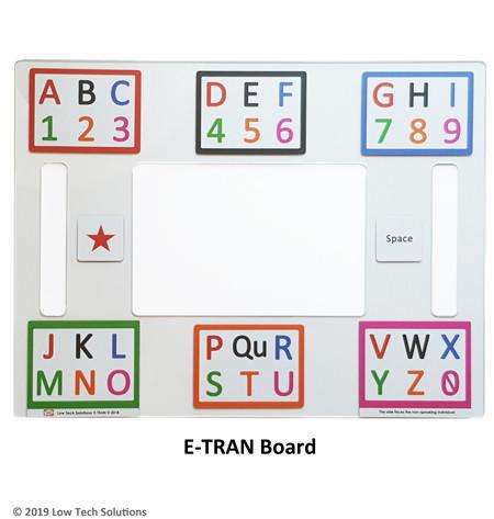E-TRAN Board / Eye Gaze Board
