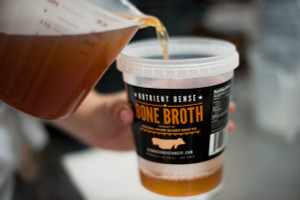 100% Grass Fed and Grass Finished Beef Broth