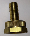 Brass Hose Barb with Female Garden Hose Threads