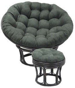 Papasan Chair Replacement Cushion Microsuede