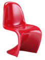 Red S Shaped Stackable Chair
