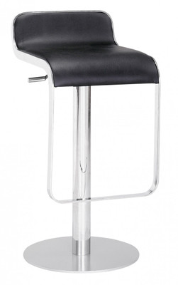 Equino Bar Stool in Black