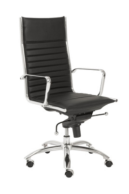 Dirk High Back Office Chair in Black