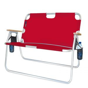 Large Folding Couch Chair in Red