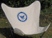 Navy Butterfly Chair Cover