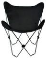 Ebony Black Butterfly Chair