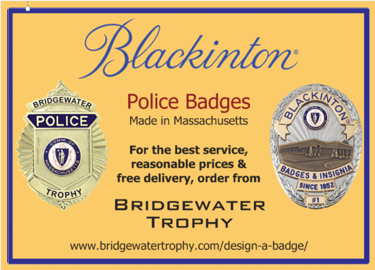 Now Selling: Blackinton Police Badges - Made in Massachusetts