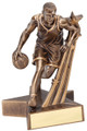 "Basketball Resin Male 8.5"" Tall"