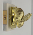 Easter Rabbit Gold Figure on Marble