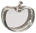 """Clear Crystal Apple Award 3.5"""""""